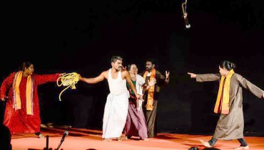 ബാംഗ്ലൂരിലെ ഇരുപതാമത് തെരുവുനാടകോത്സവത്തിൽ കേരള ടീം