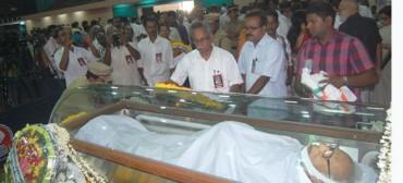 മഹാനായ മനുഷ്യസ്നേഹി  ജസ്റ്റിസ് വി.ആര്.കൃഷ്ണയ്യര്ക്ക് എസ്യുസിഐ(കമ്മ്യൂണിസ്റ്റ്) പാര്ട്ടിയുടെ  പ്രണാമങ്ങള്