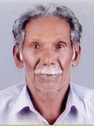 സഖാവ് ടി.കെ.ഭാസ്കരന്  (ചാച്ചി) ലാല്സലാം