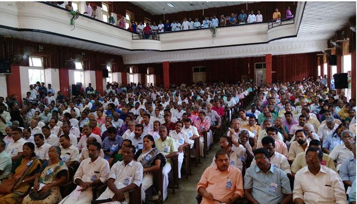 Trade Union United Convention Trissur Comrade V.K.Sadanandan State Secretary AIUTUC Speaks.